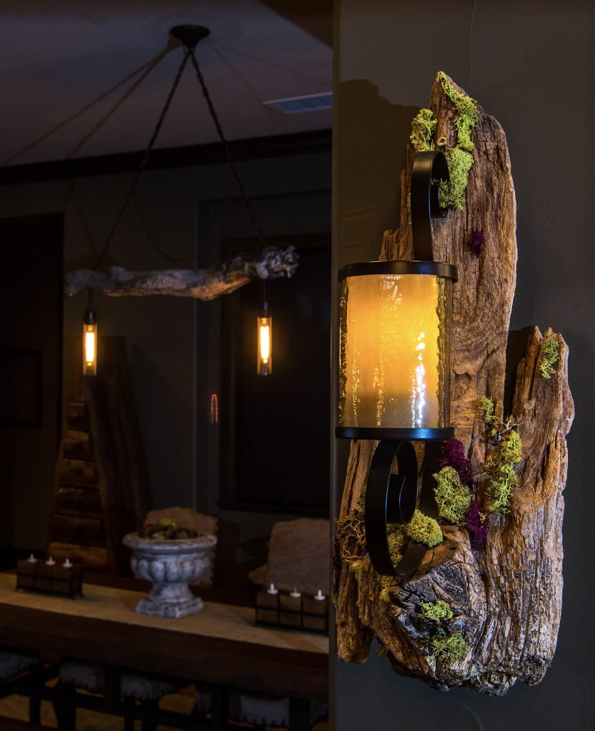 Scintilla lamp by Bosco Via Gio